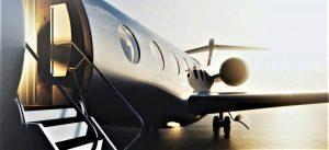 covid private jet
